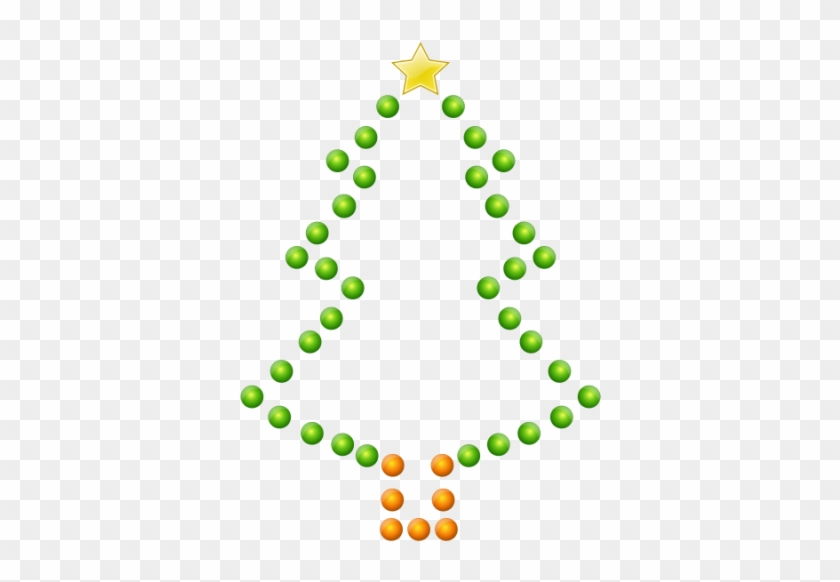 Pin Christmas Tree Clip Art Outline - Christmas Tree #3152