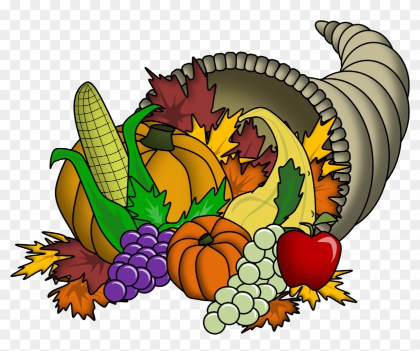 Thanksgiving Cornucopia Pictures - Cornucopia Clip Art Free #3214