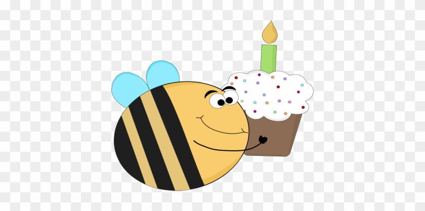 Funny Birthday Bee - Birthday Clip Art Funny #3216