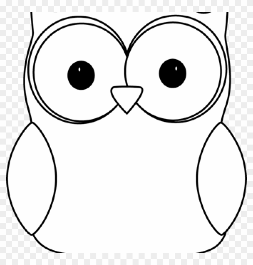 Owl Clipart Black And White Black And White Owl Clip - Clip Art #3204