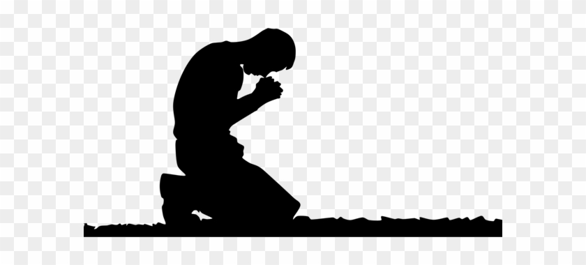 Kneeling Man Prayer Clipart - Man Kneeling In Prayer #3180