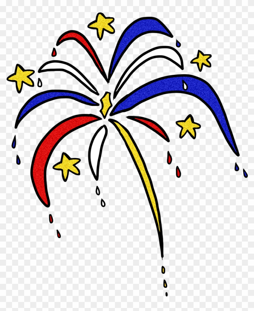 Fireworks Clipart Transparent Free Images - Transparent Clipart Of Firework #3199