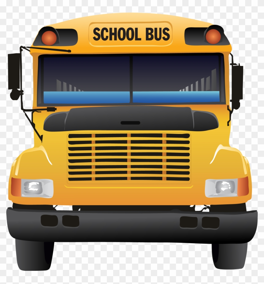Bus Clipart - School Bus #3295