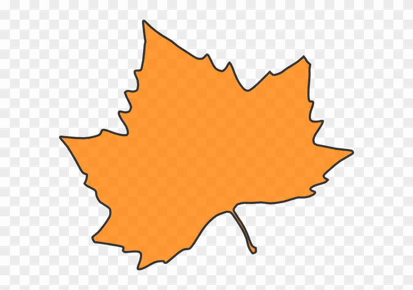 Maple Leaf Clipart Orange - Grape Leaves #3237