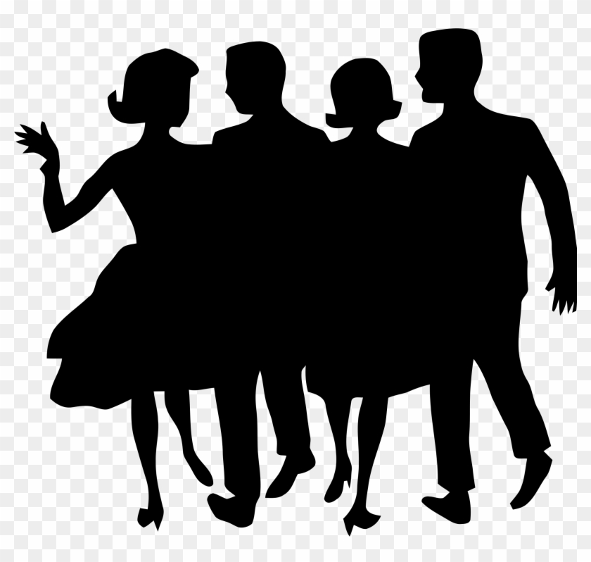 People Silhouette 1 Icons Png - People Silhouette Clipart #3233
