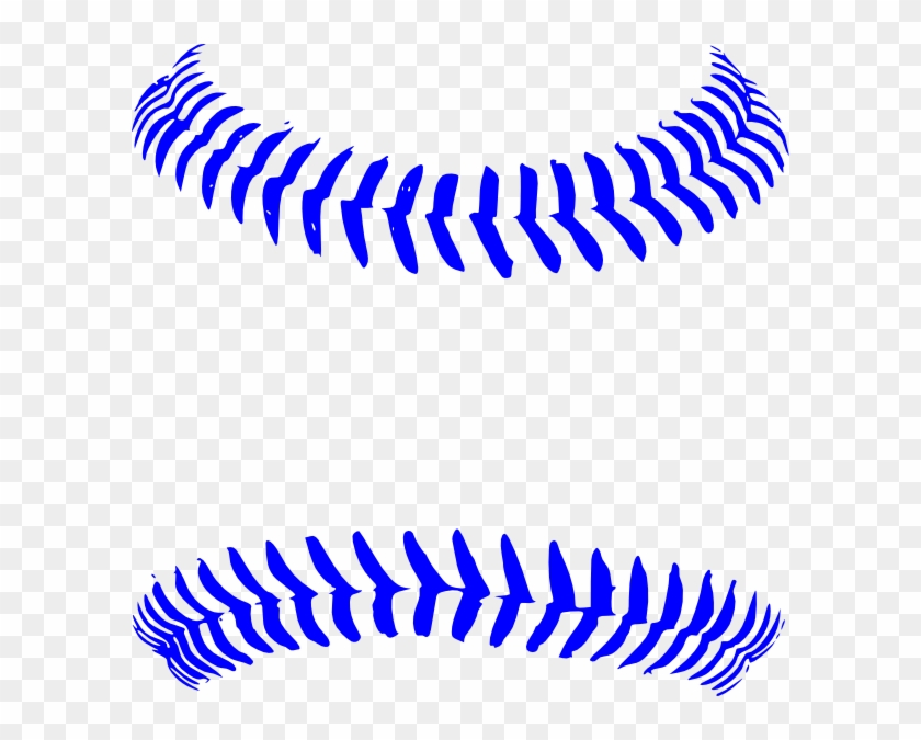 Blue Stitch Baseball Clip Art At Clker - Customize Baseball With Name Throw Blanket #3235