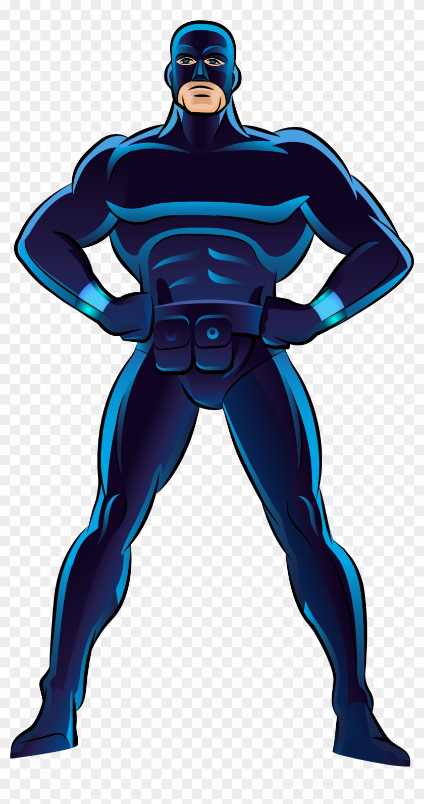 Blue Superhero Png Clip Art - Power Rangers Spd Costume #3296