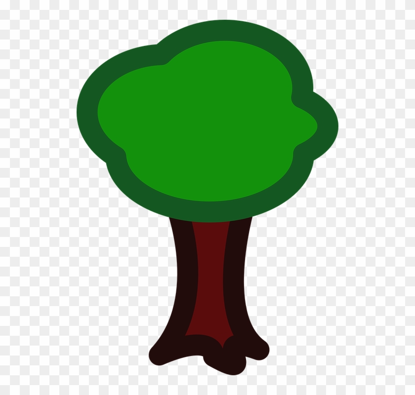 Apple Tree Tree Forest Nature Eco Ecology - Small Family Tree Clip Art #3324