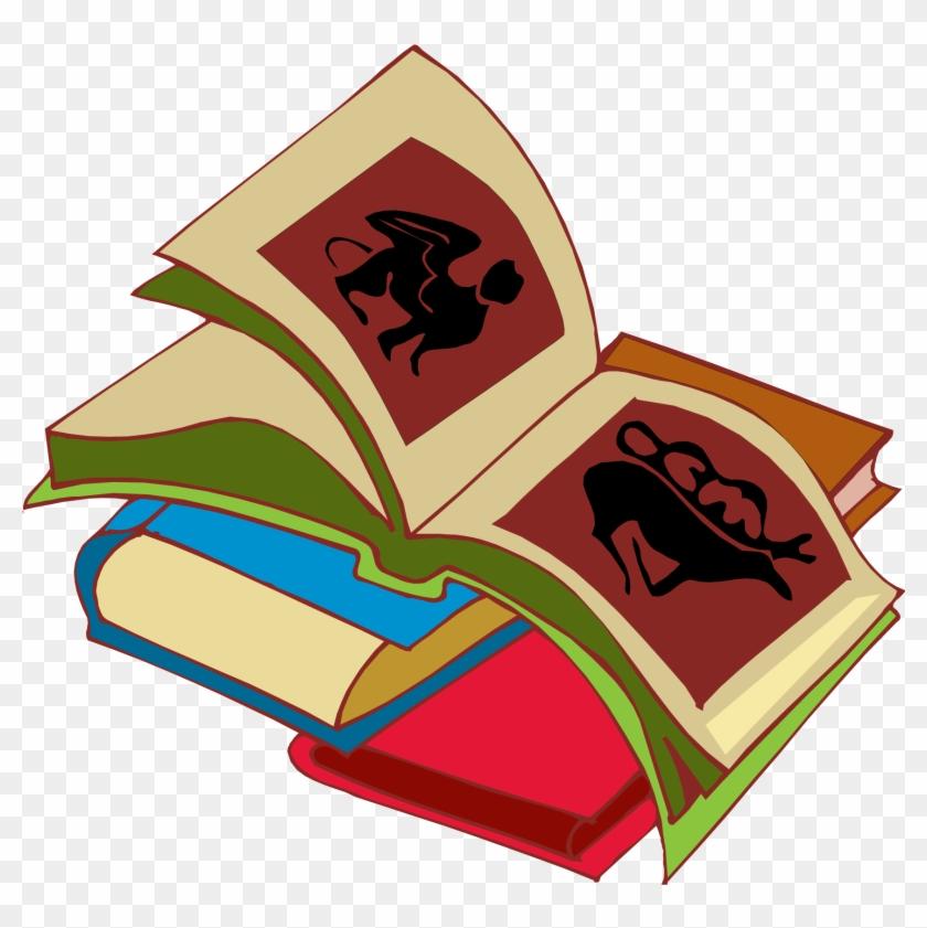 Stack Of Books Image Stack Clipart School Book Clip - Clip Art #3369
