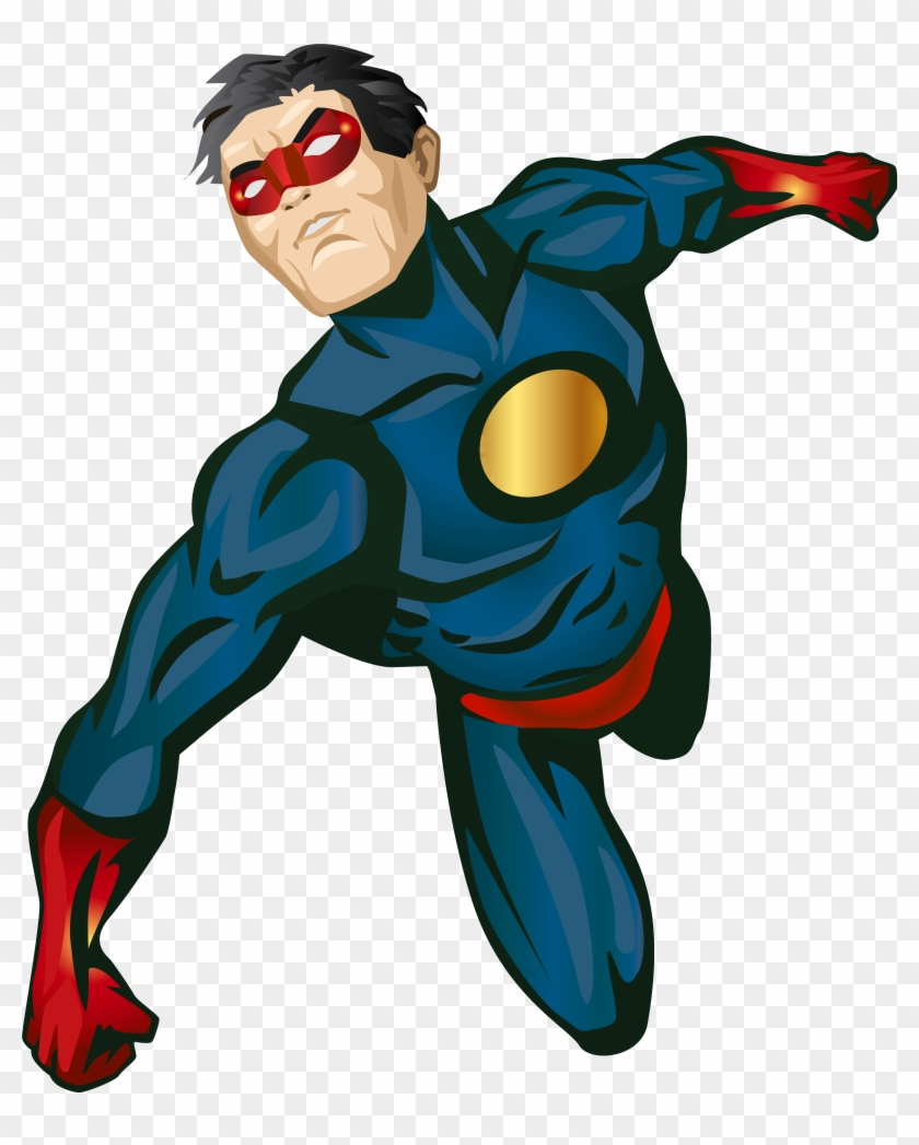 Super Hero Png Clip Art - Superhero #3367