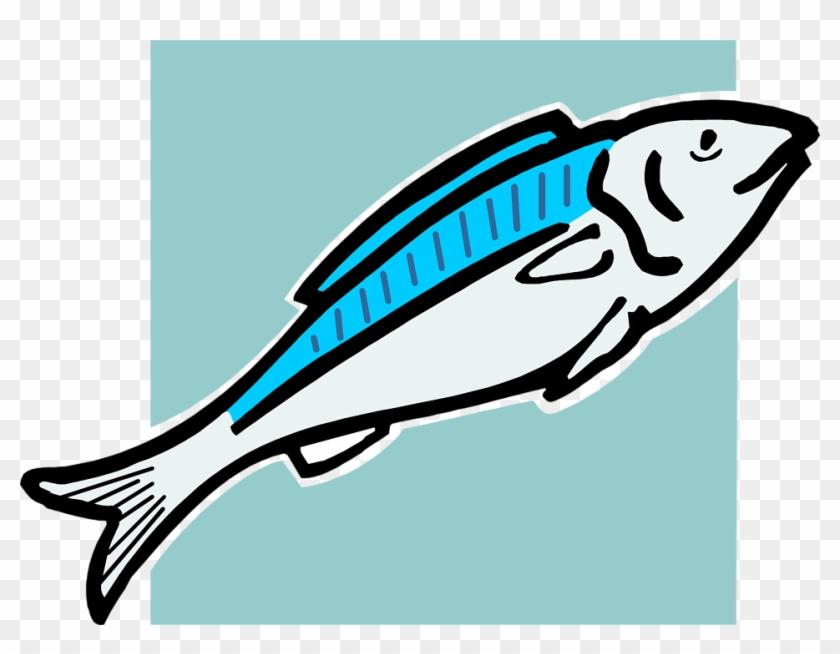 Bass Fish Clip Art Cliparts - Fish Food Clip Art #3328