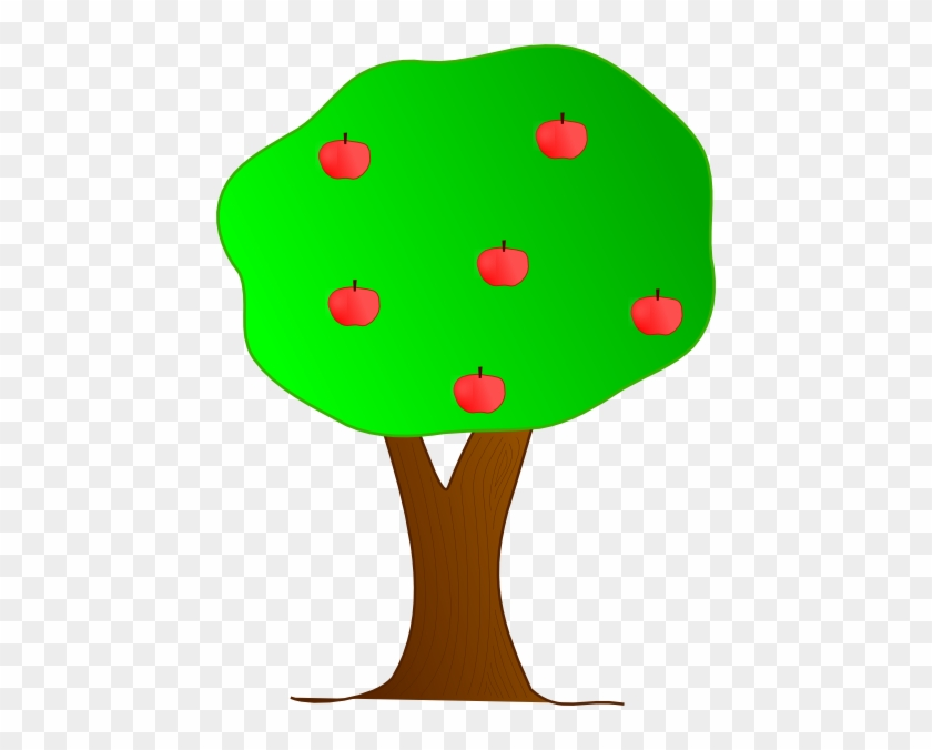 Cartoon Trees With Apples #3361