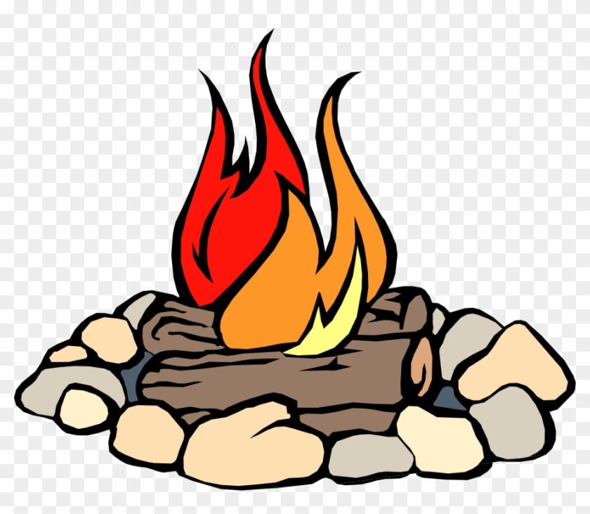 Animated Fire Clip Art - Fire Wood Clip Art #3385
