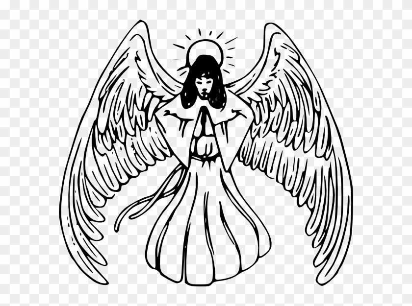 Angel Clip Art #3423