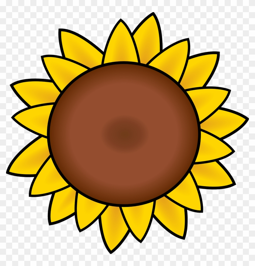 Free Image On Pixabay - Sunflower Clipart #3505