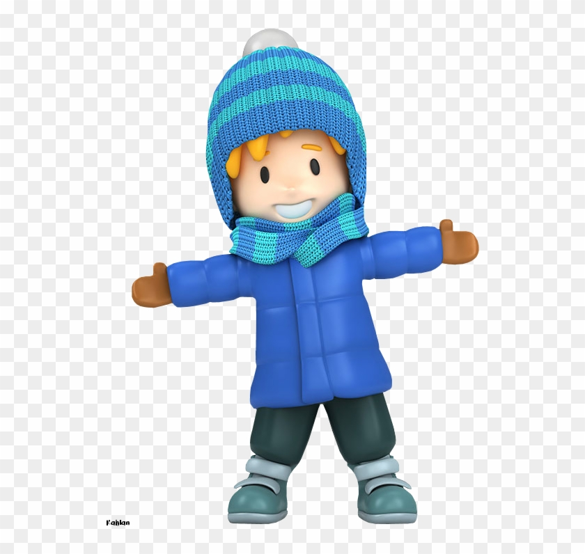 Winter Boy Clipart - Winter Boy Clipart #3511