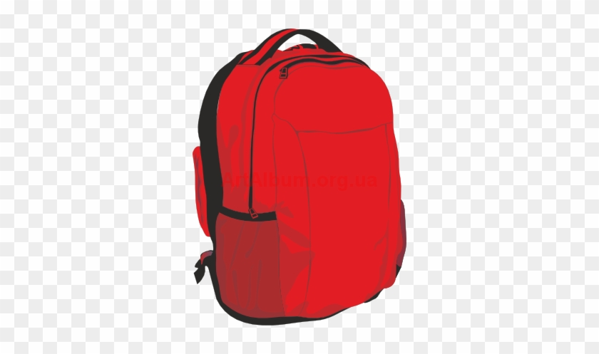 This School Backpack Clip Art Free Clipart Images - Clip Art Red Backpack #3608