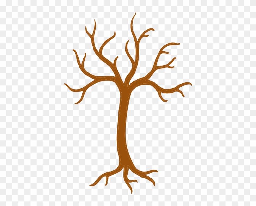 Clip Art Tree Outline - Clip Art Tree Outline #352