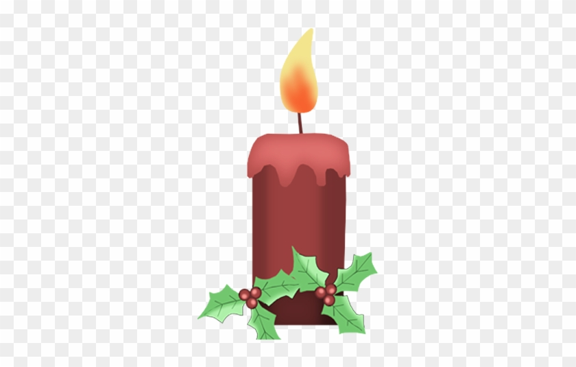 Bd Tis The Season Candle - Winter Candle Clipart #3541