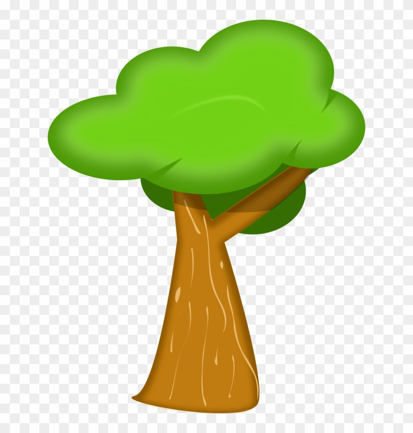 Free Vector Soft Trees Clip Art - Free Vector Soft Trees Clip Art #371