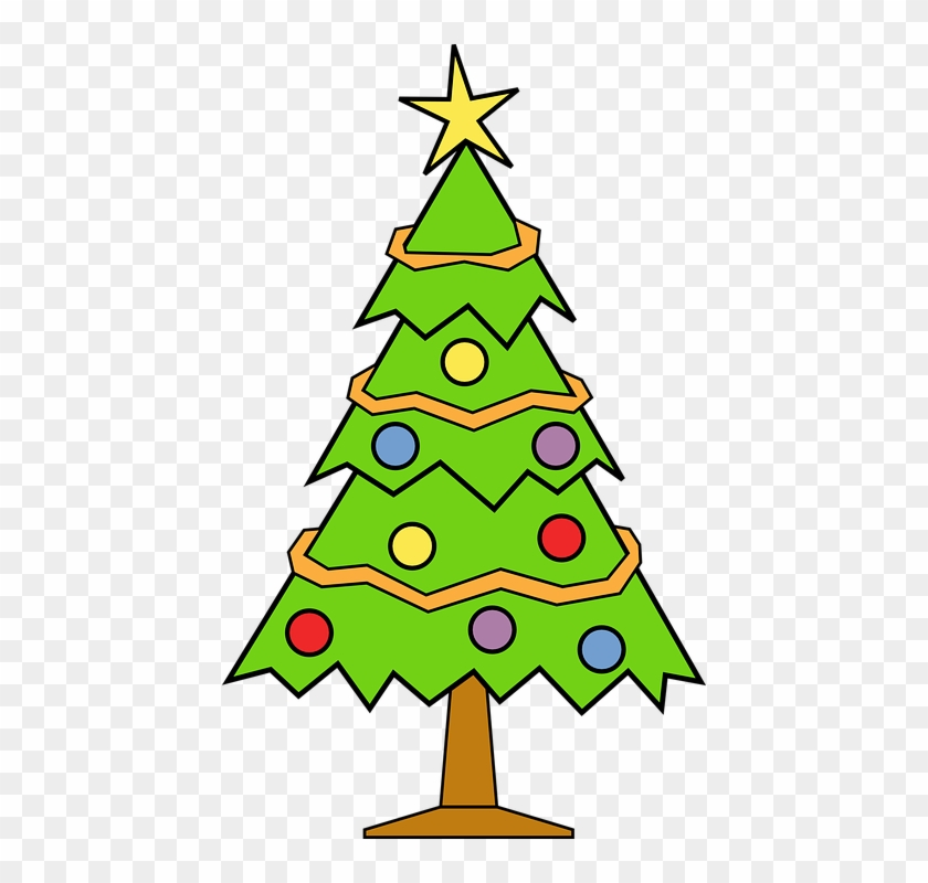 Christmas Tree Christmas Background - Christmas Tree Clipart Transparent Background #3557