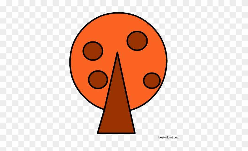 Free Orange Tree Clip Art - Mixed Martial Arts Clothing #3592