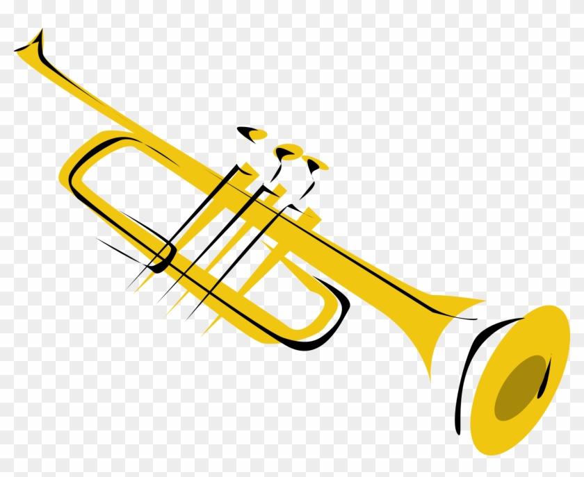 Trumpet Clip Art Free Clipart Images - Jazz Instruments Clip Art #3567