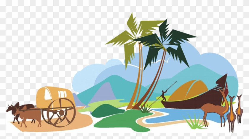 Flyme Holidays - About Us - Keralam Illustration #3615