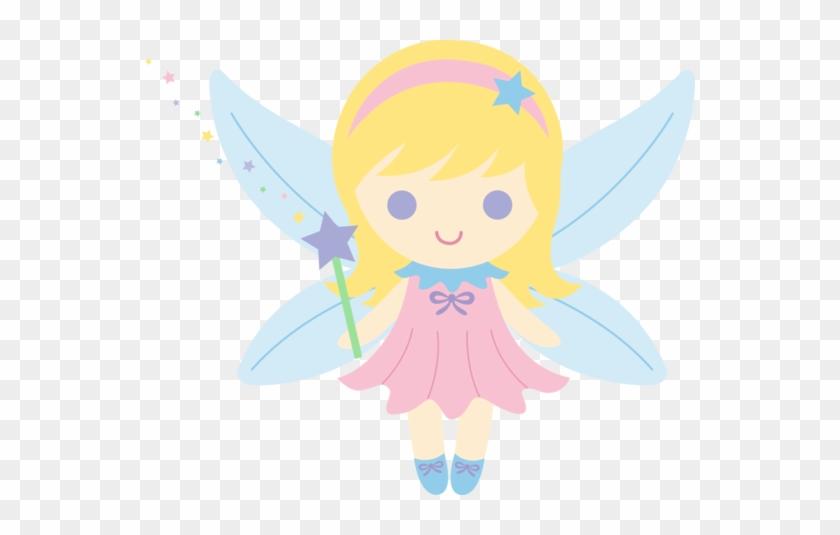 Cute Pink Fairy Version Clipart - Cute Fairy Clipart #3651