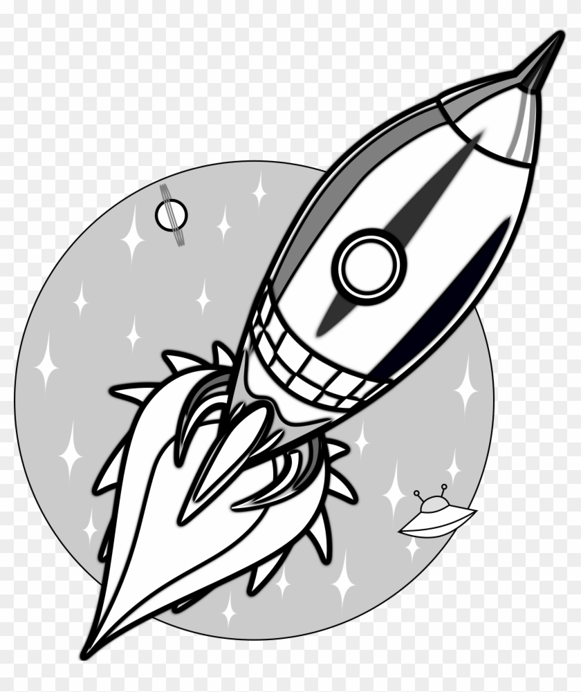 Cartoon rocket free download clip art on rocket black and white clipart 3652