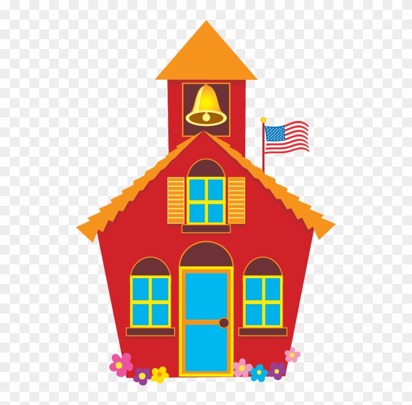 School House Schoolhouse Images Free Download Clip - Red School House Png #3673