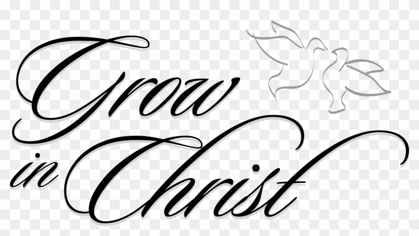 Free Religious Clipart - Grow In Christ Clipart #3672