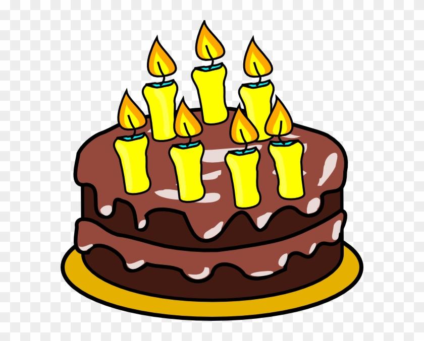 Birthday Cake Clip Art #3730
