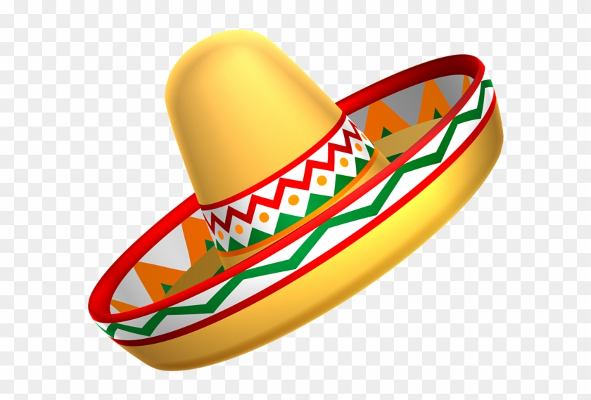 Mexican Sombrero Hat Transparent Png Clip Art - Mexican Hat Transparent Background #3722