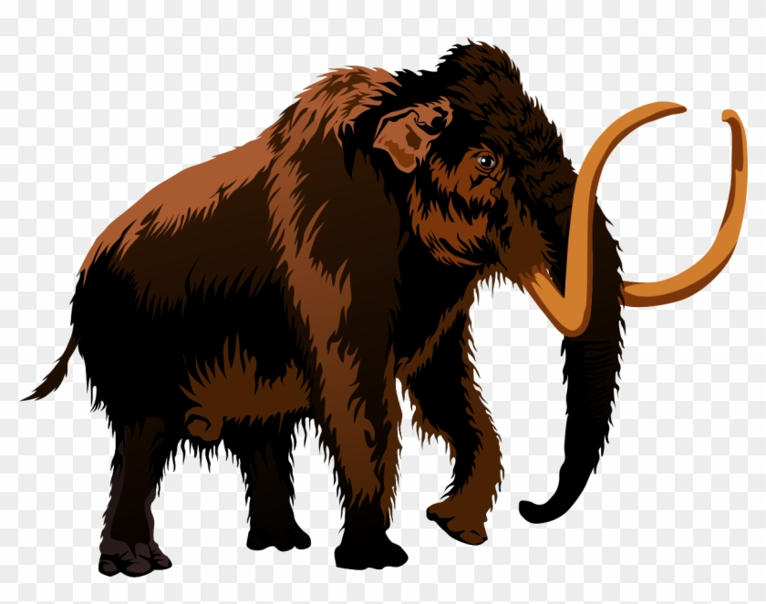 Extinct Animals Clipart Free To Use Public Domain Clip - Woolly Mammoth Clipart #3714