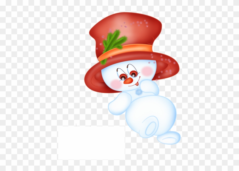 Christmas Clip Art Of Snowman - Snowman #3715