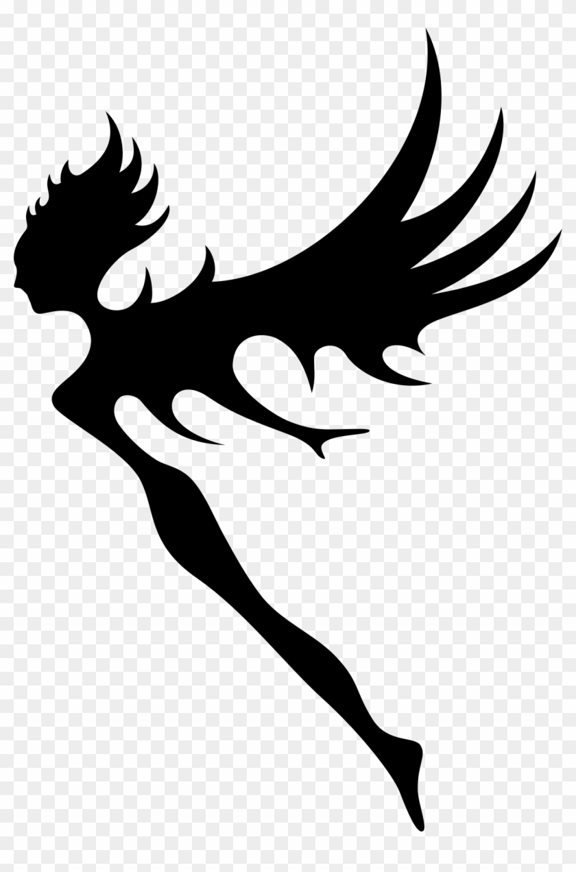 Clipart - Fairy Vector Png #3711