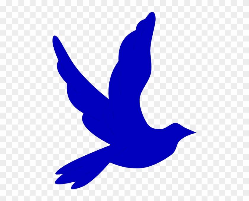 Blue Dove Clip Art #3803