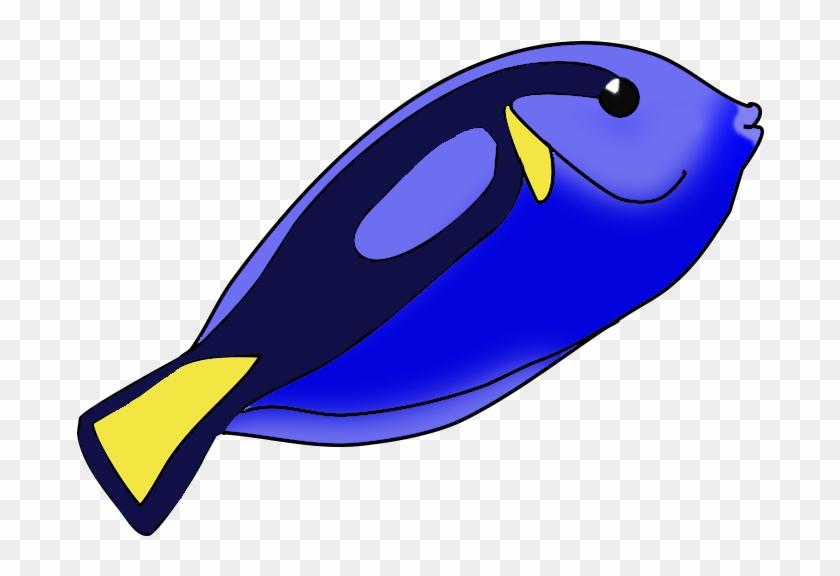 Fish Clip Art Vector Free Clipart Images Clipartix - Blue Tang Fish Clipart #3795