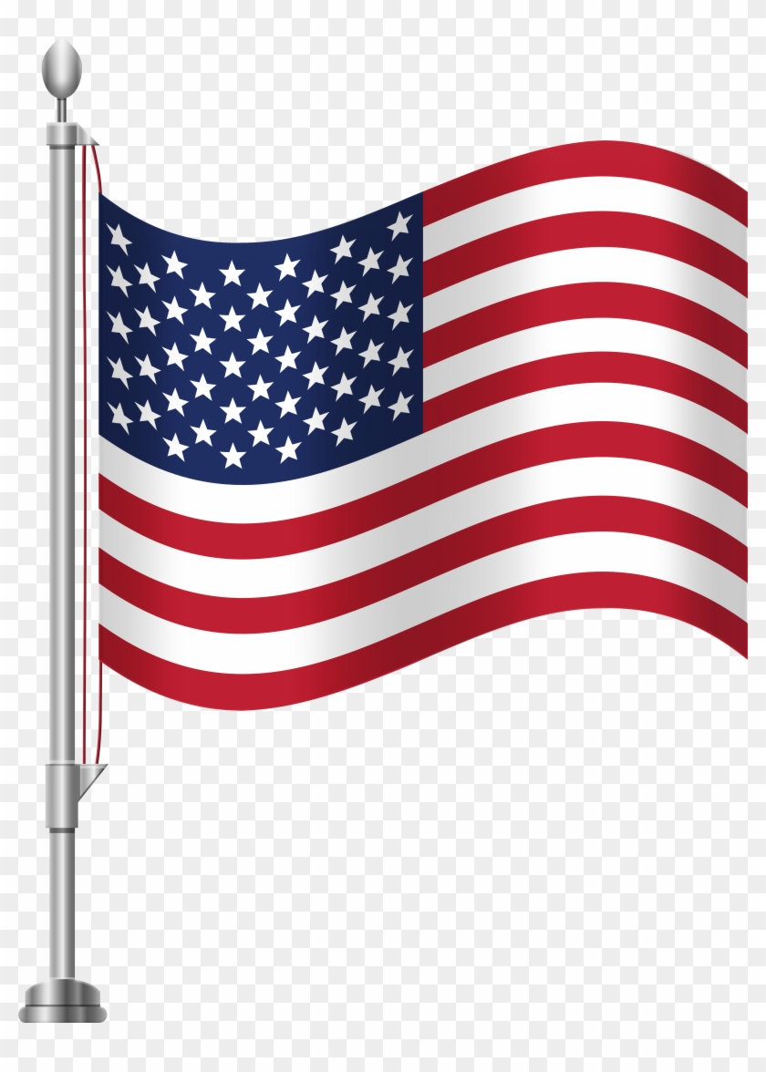 United States Of America Flag Png Clip Art - United States Of America Flag Png Clip Art #3840