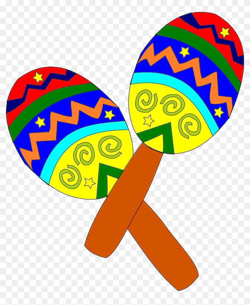 Instrumentos Musicais - Mexican Clipart #3823