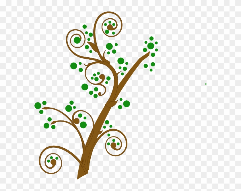 Brown And Green Tree Branch Clip Art At Clker - Brown And Green Tree Branch Clip Art At Clker #40