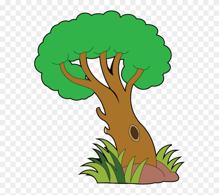 Nature Tree Clipart - Trees And Plants Clipart #3863