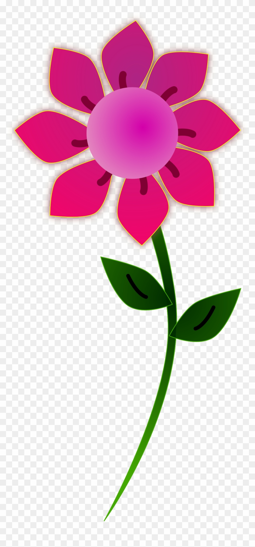 7 Clipart - Flower Clipart Png #3888