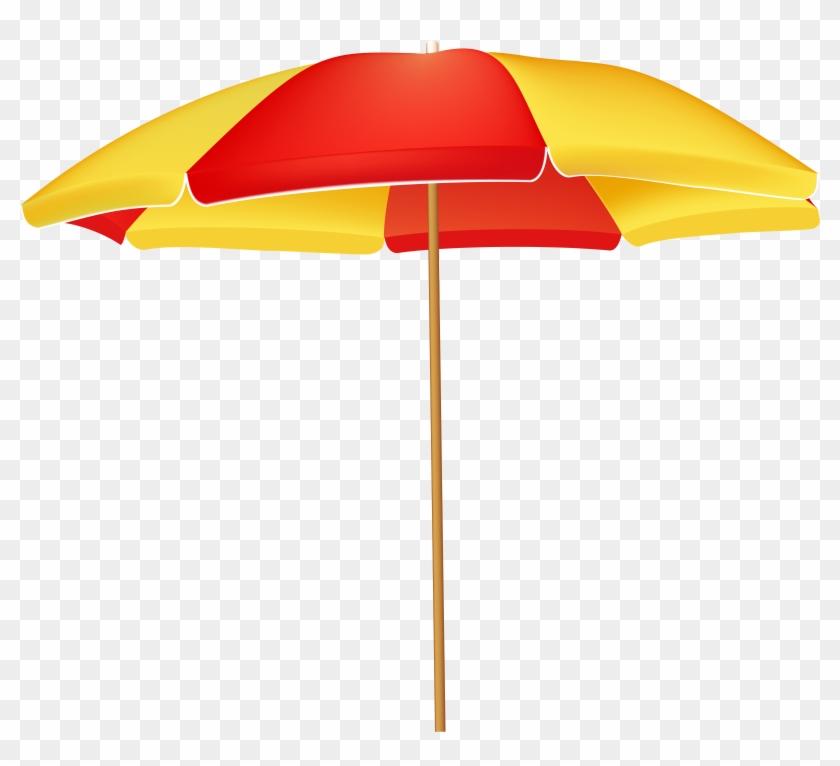 Beach Umbrella Png Clip Art - Beach Umbrella Png Clip Art #3968