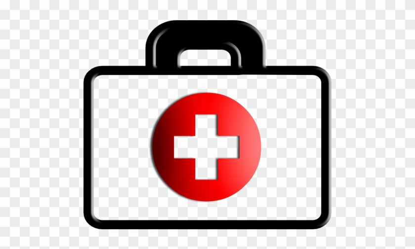 Firstaid Red Cross Clipart - First Aid Kit Clipart #3922