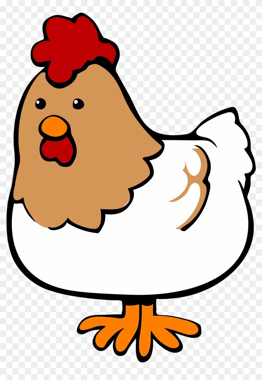 Open - Chicken Cartoon #3961