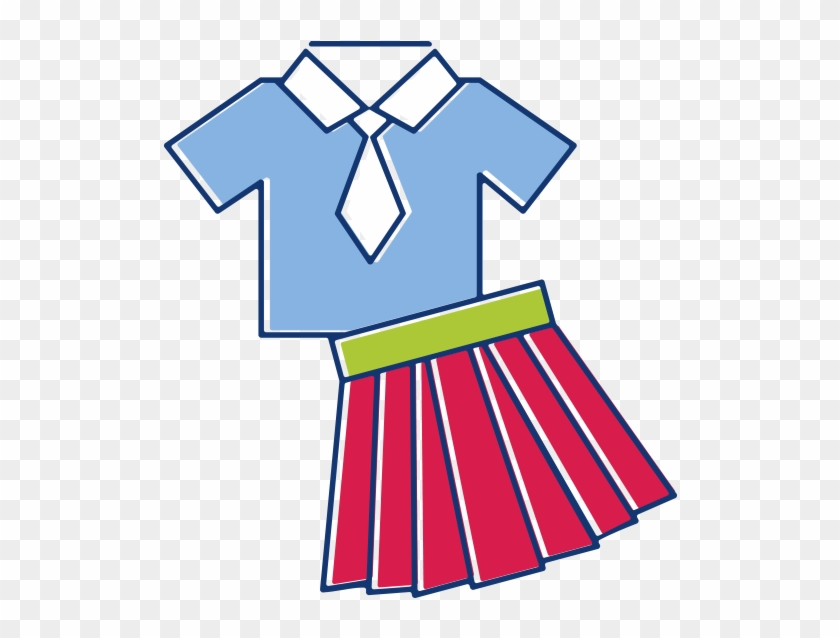 School Uniform Clothing Clip Art - School Uniform Clipart #3974