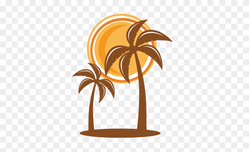 Palm Tree Svg Scrapbook Cut File Cute Clipart Files - Scalable Vector Graphics #4008