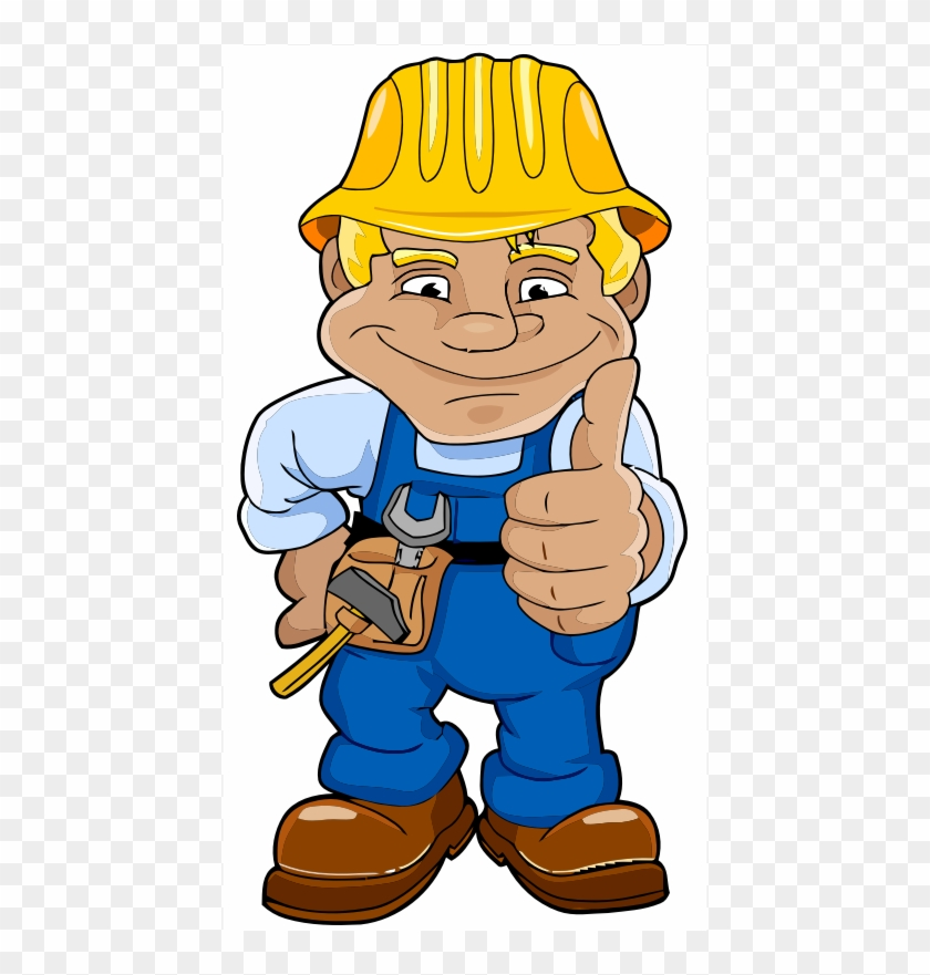 Construction Worker Laborer Architectural Engineering - Clip Art Construction Worker Transparent #4125